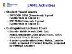 eame activities