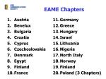 eame chapters