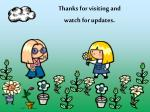 thanks for visiting and watch for updates