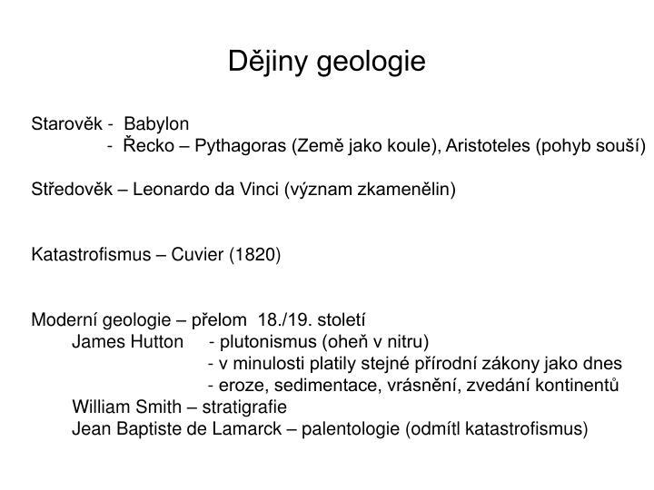 Dějiny geologie