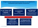 origen de las prestaciones sociales en la legislaci n venezolana principales momentos