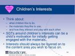 children s interests