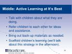 middle active learning at it s best1