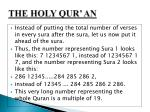 the holy qur an15