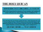 the holy qur an27