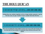 the holy qur an9