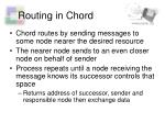 routing in chord