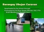 barangay ubujan caravan