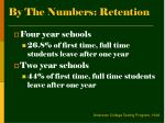 by the numbers retention