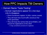 how ppc impacts tm owners2