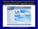 schemes affecting search engine results consequences for trademark owners6