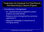 trademarks as keywords for paid results and advertising in search engines12