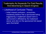 trademarks as keywords for paid results and advertising in search engines6