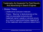 trademarks as keywords for paid results and advertising in search engines9