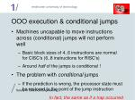 ooo execution conditional jumps