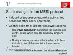 state changes in the mesi protocol