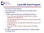 local hie grant program