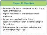 chapter 11 objectives1