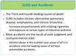 clrd and accidents