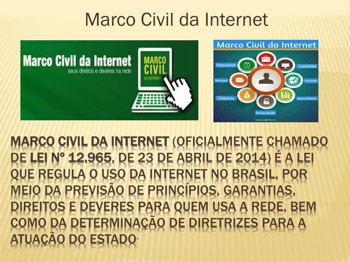 marco civil da internet n.