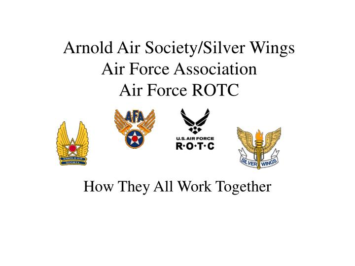 arnold air society silver wings air force association air force rotc n.