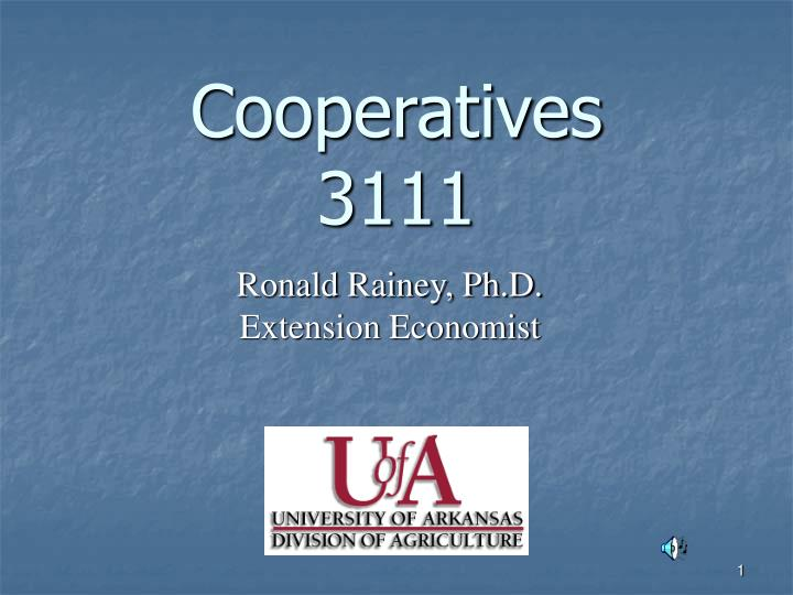 cooperatives 3111 n.