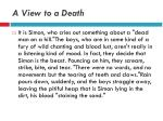 a view to a death4