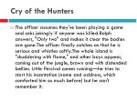 cry of the hunters11