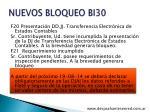nuevos bloqueo bi301