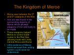 the kingdom of meroe