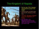 the kingdom of napata