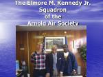 the elmore m kennedy jr squadron of the arnold air society