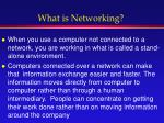 what is networking