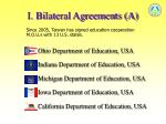 i bilateral agreements a