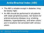 ankle brachial index abi1