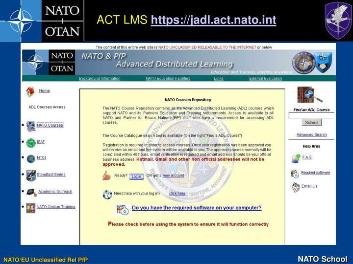 ACT LMS