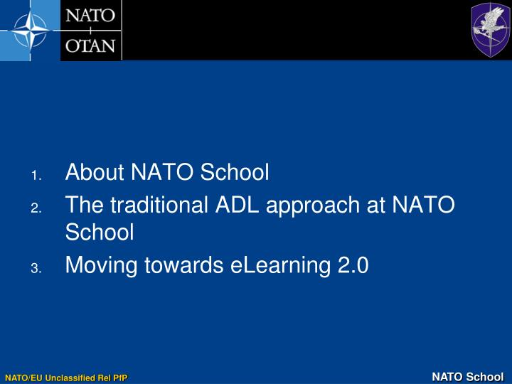 About NATO School