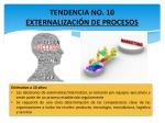 tendencia no 10 externalizaci n de procesos
