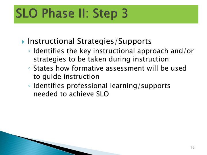 SLO Phase