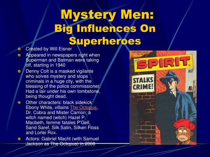 Mystery Men: