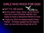 girlz who rock for god5