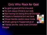 girlz who rock for god6
