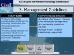 3 management guidelines3