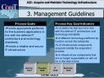 3 management guidelines4