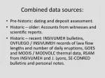 combined data sources