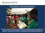 education and awareness
