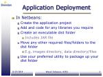 application deployment1