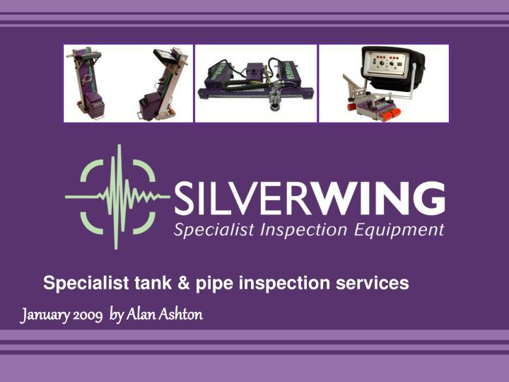specialist tank pipe inspection services n.