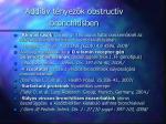 addit v t nyez k obstructiv bronchitisben
