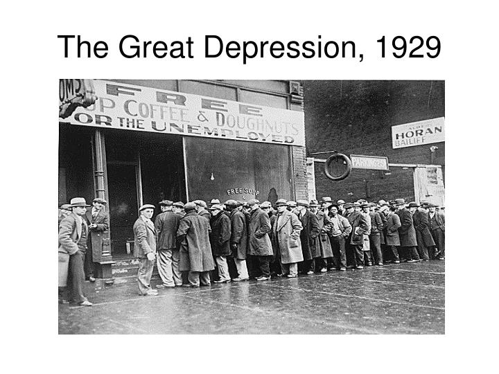 the great depression 1929 n.